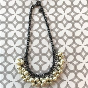 💥J.CREW PEARL&STONE NECKLACE